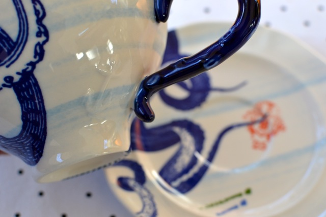 """From the Deep"" Cup & Saucer 2"