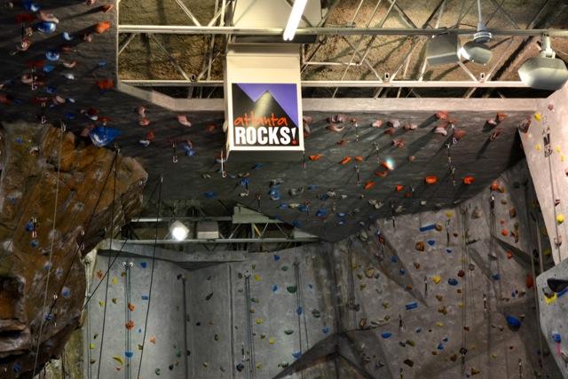 Atlanta Rocks! Indoor Climbing Gym