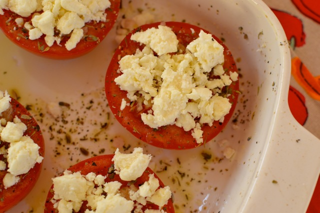 Recipe: Baked Tomatoes with Feta 4