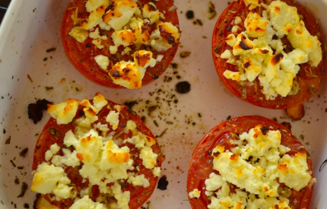 Recipe: Baked Tomatoes with Feta 6