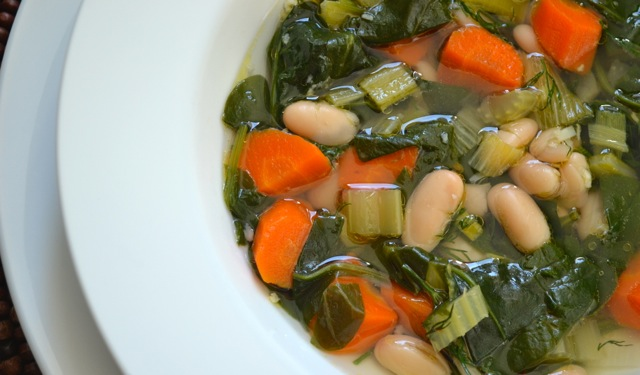 Recipe: Spinach and White Bean Soup 3