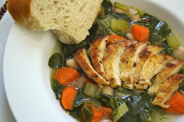 Recipe: Spinach and White Bean Soup 4