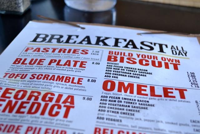 Local: West Egg Cafe Menu