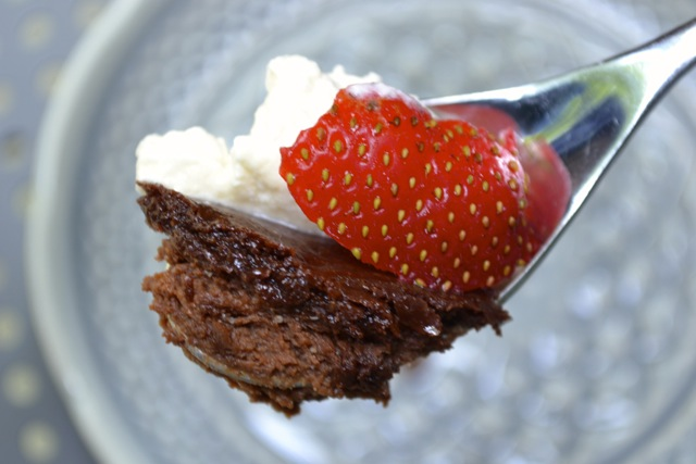 Recipe: Chocolate Pots de Creme with Whipped Cream and Strawberries 7