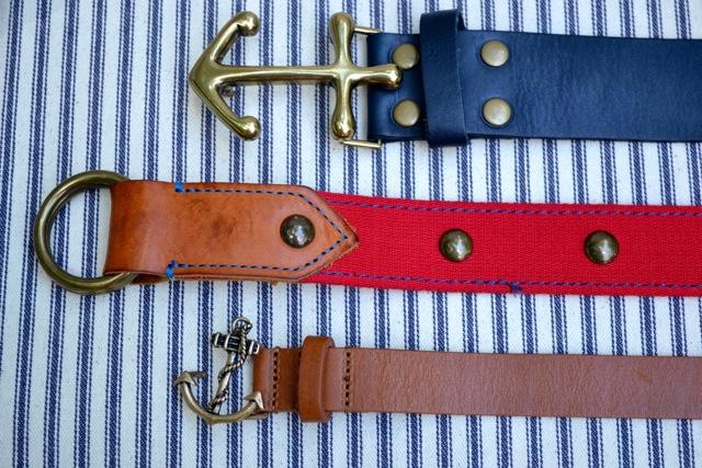 Nautical Belts