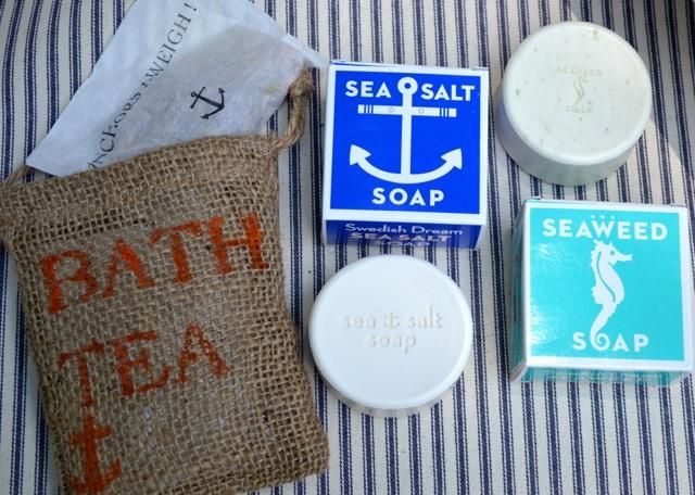 Nautical Soaps and Bath Teas