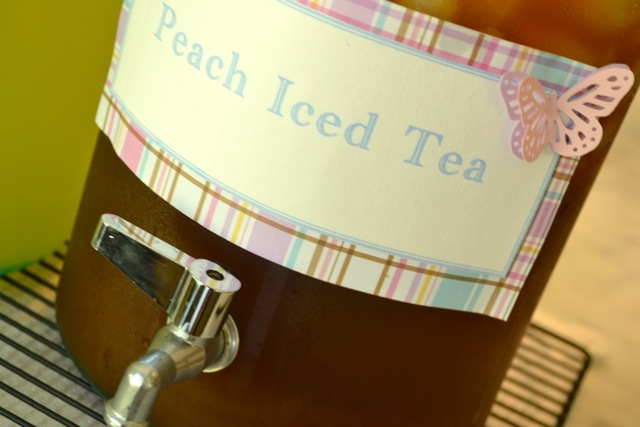 Recipe: Peach Iced Sweet Tea