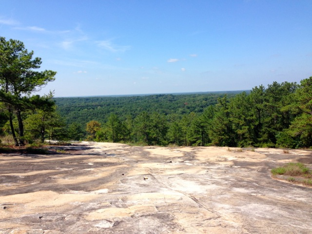 Hiking at Stone Mountain Park 4