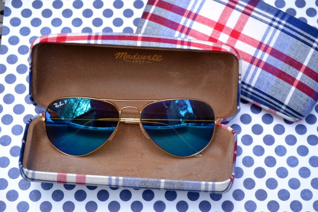 Little Luxuries: Plaid Sunglass Case