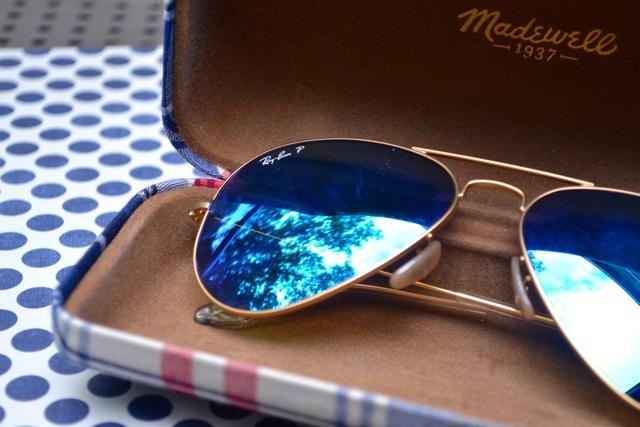 Madewell Plaid Sunglass Case 3