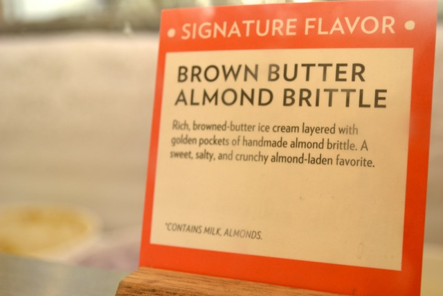 Jeni's Splendid Ice Cream: Brown Butter Almond Brittle