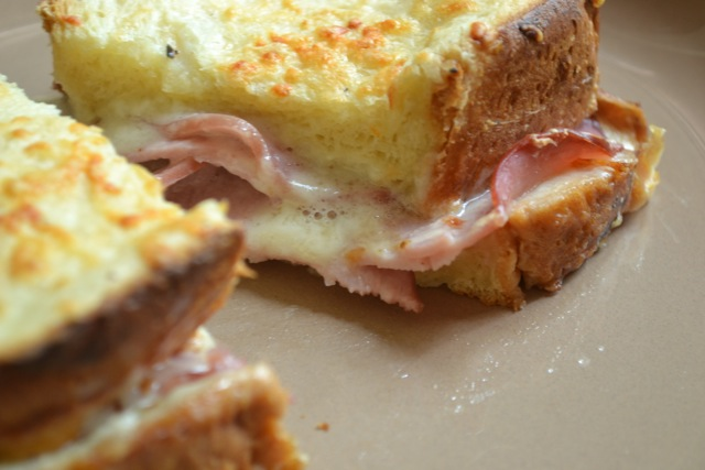 Recipe: Ham and Gruyere Sandwich (Croque Monsieur)