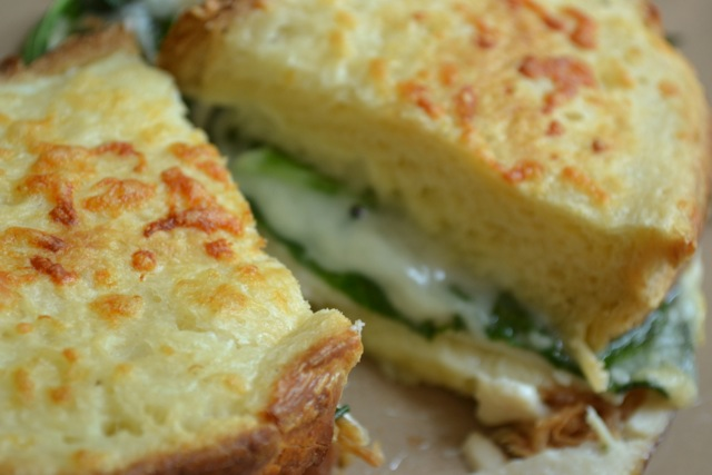 Turkey, Spinach, and Gruyere Sandwich 2