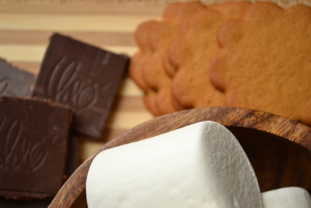 Ingredients: Ginger Coconut Oven S'mores