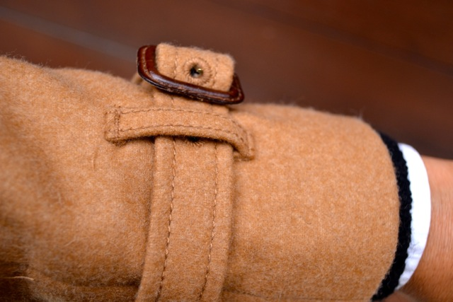 Detail: Camel Coat